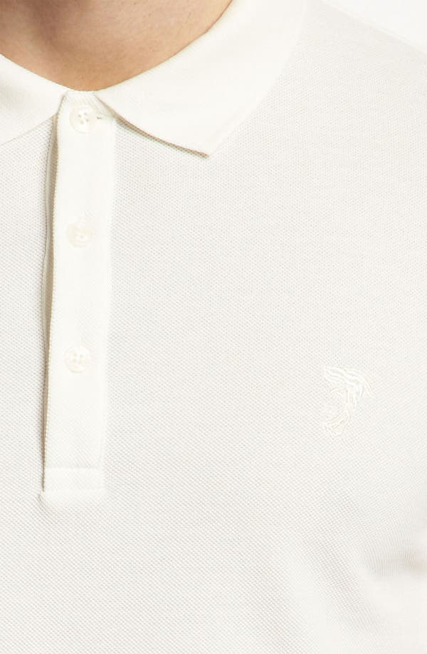 Alternate Image 3  - Versace Cotton Polo Shirt