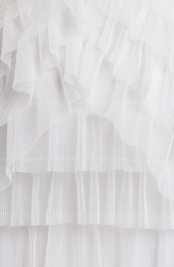 Alternate Image 3  - BCBGMAXAZRIA 'Ella' One Shoulder Tiered Tulle Dress
