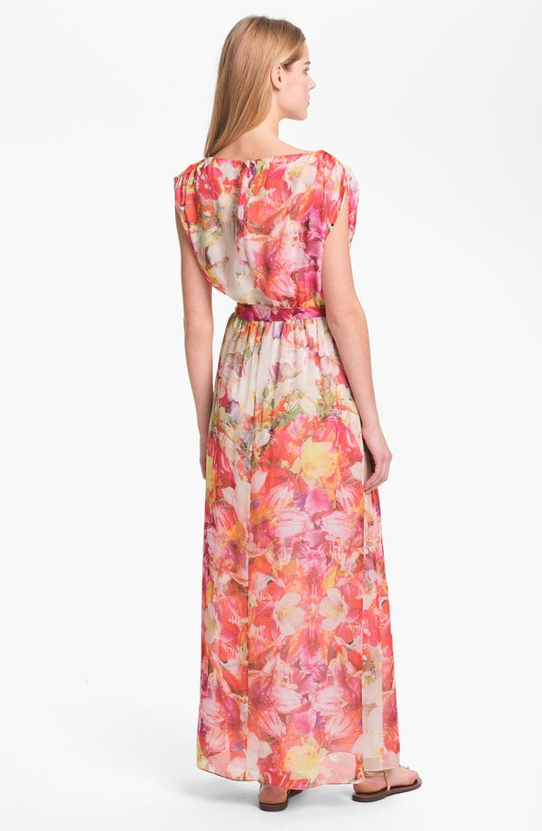 Alternate Image 2  - Vince Camuto Floral Print Maxi Dress
