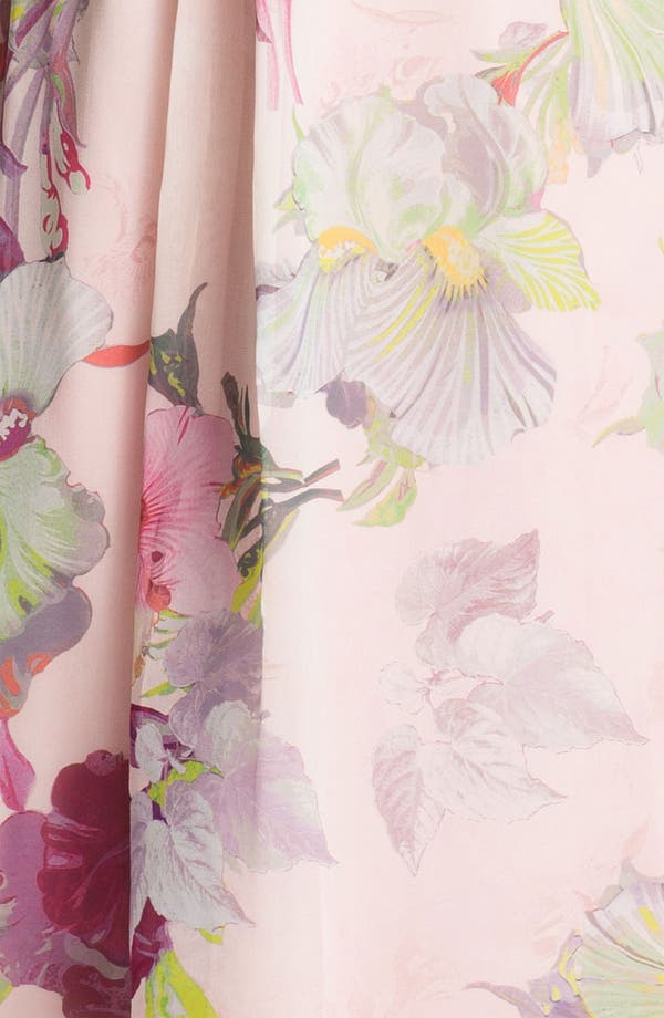 Alternate Image 3  - Ted Baker London 'Treasured Orchid' Silk Maxi Dress (Online Only)