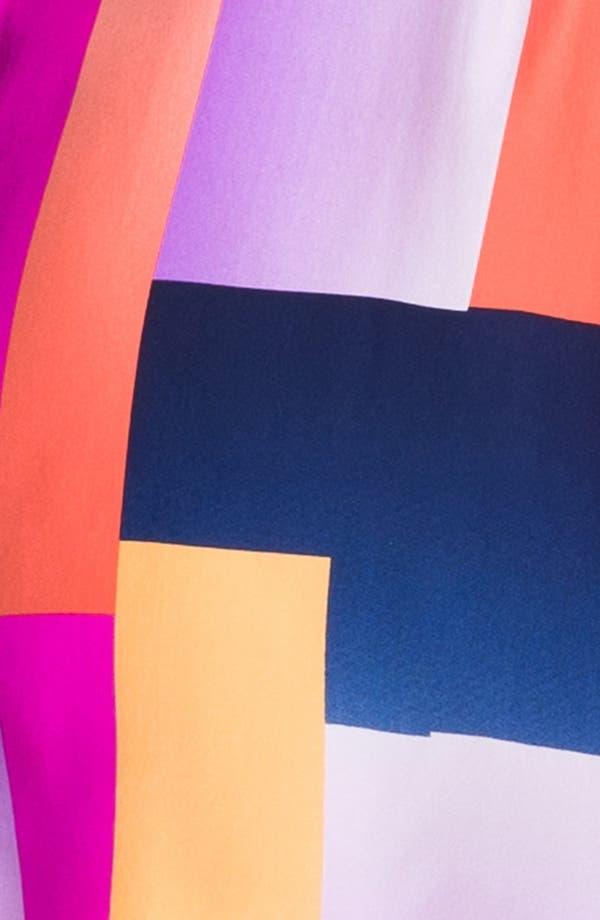Alternate Image 3  - ALICE & TRIXIE 'Britney' Print Silk Fit & Flare Dress
