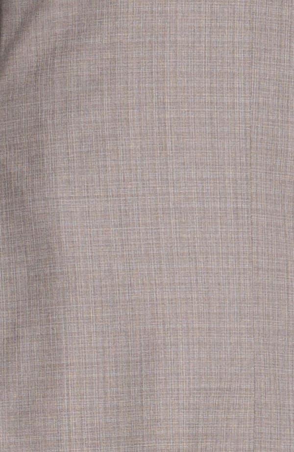 Alternate Image 6  - Ted Baker London Trim Fit Wool Suit