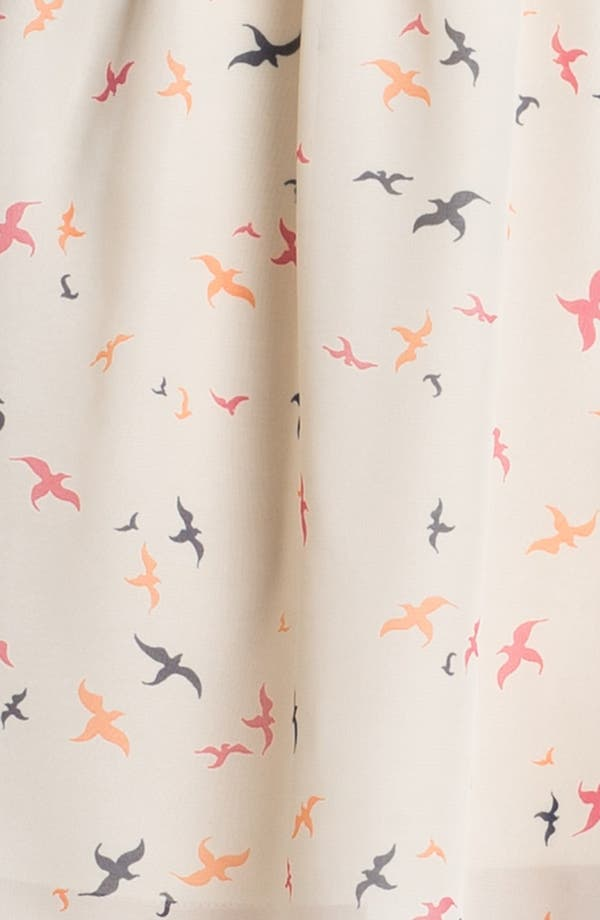 Alternate Image 3  - Olive & Oak Bird Print Shirtdress
