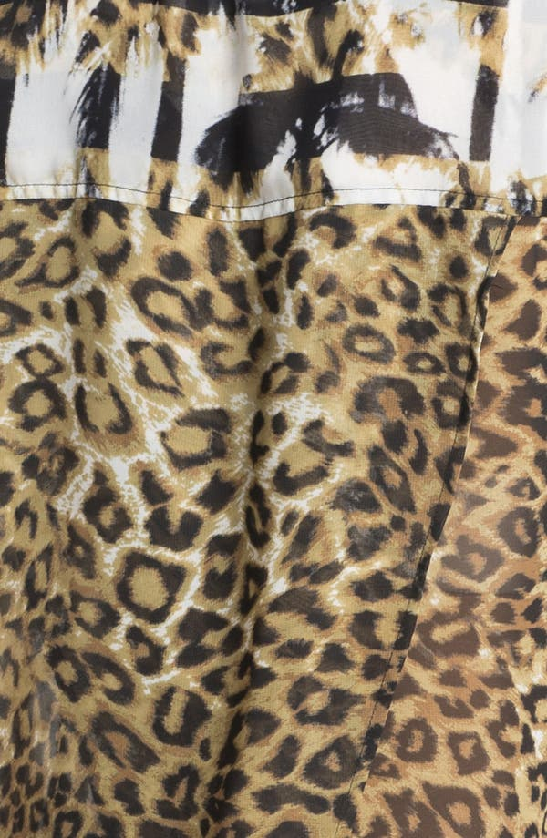 Alternate Image 3  - Kenneth Cole New York 'Krissy' Animal Print Blouse (Online Only)