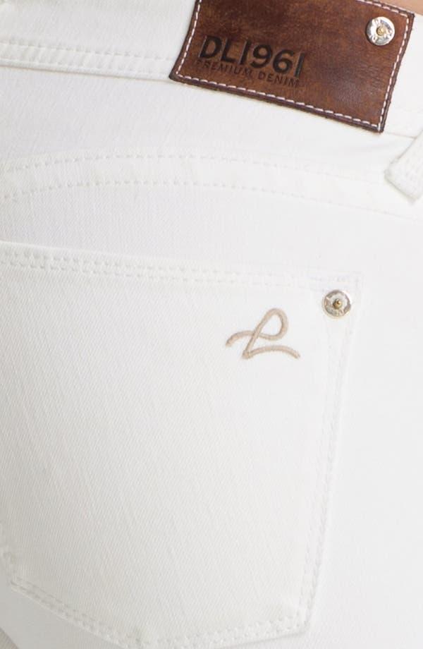 Alternate Image 3  - DL1961 'Amanda' X-Fit Stretch Denim Skinny Jeans (Milk)