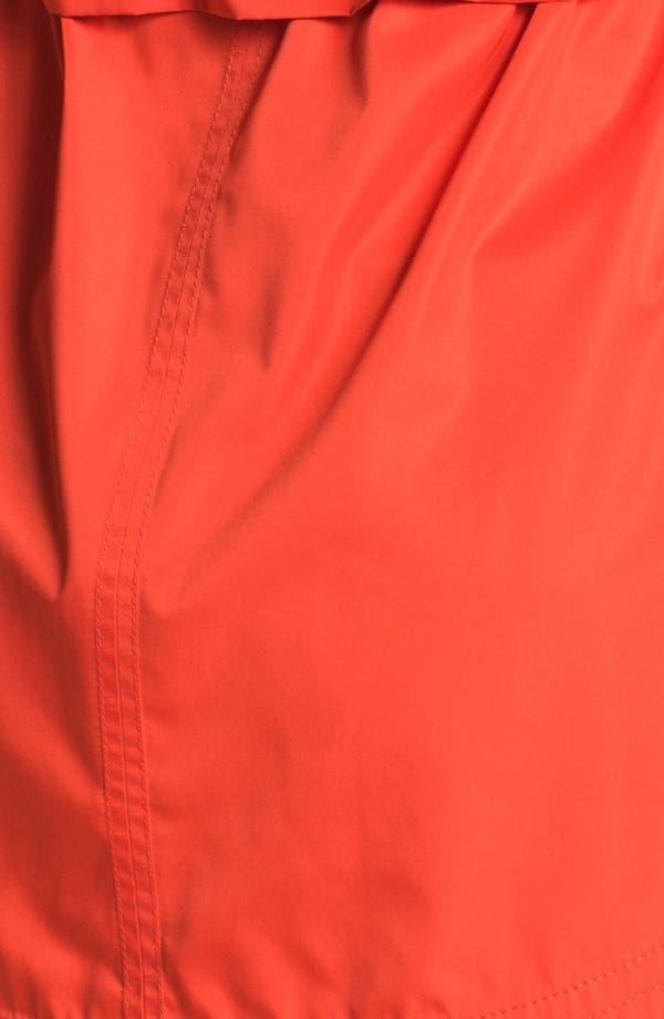 Hidden Hood Anorak,                             Alternate thumbnail 3, color,                             Tomato