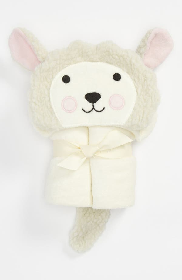 Alternate Image 1 Selected - Elegant Baby 'Lamb' Bath Wrap (Infant)
