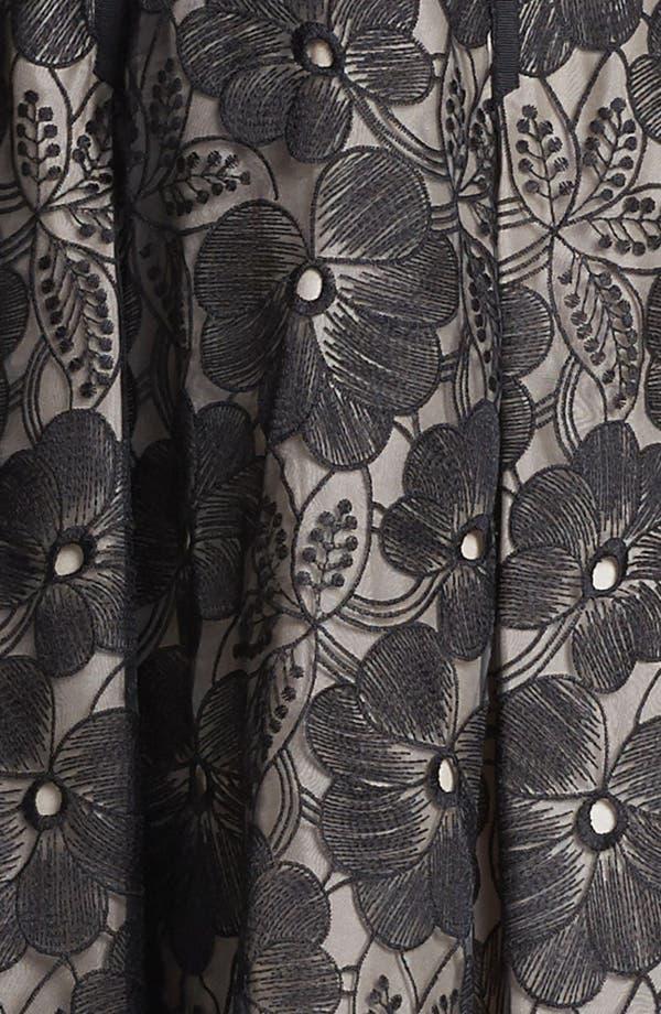 Alternate Image 3  - Jill Jill Stuart Embroidered Organza Fit & Flare Dress