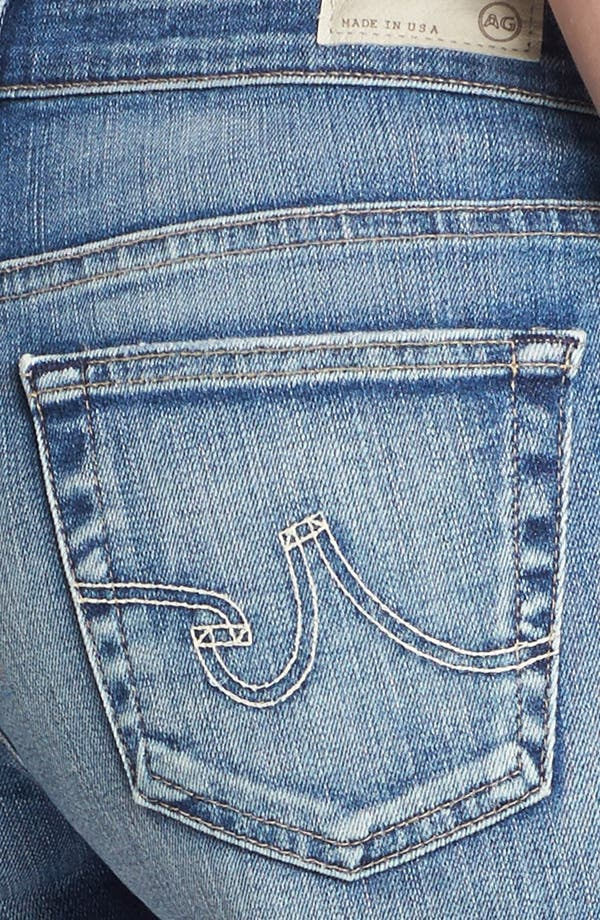 Alternate Image 3  - AG Jeans 'Pixie' Cutoff Denim Shorts (17 Year Studded)
