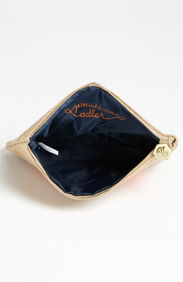 Alternate Image 3  - Jonathan Adler 'Scooter' Canvas Pouch
