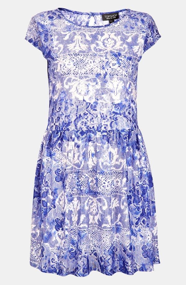 Alternate Image 3  - Topshop 'China Lace' Dress