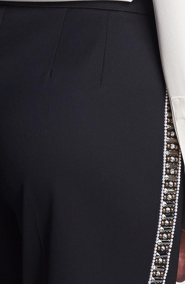 Alternate Image 5  - St. John Collection 'Emma' Embellished Venetian Wool Pants