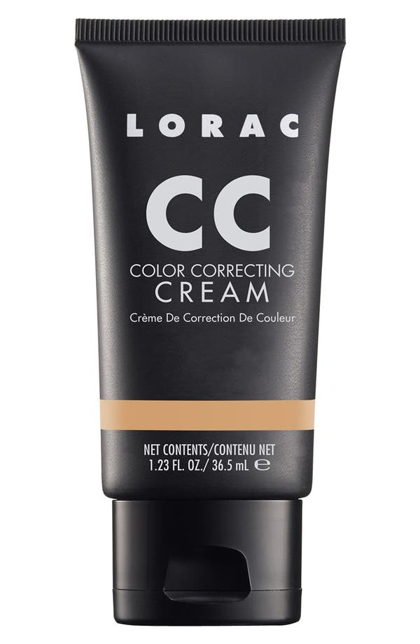 Alternate Image 1 Selected - LORAC 'CC' Color Correcting Cream