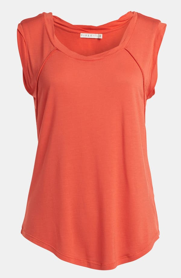 Alternate Image 1 Selected - Piper 'Whistler' Cutout Back Top
