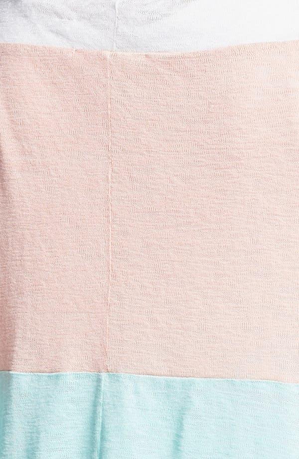 Alternate Image 3  - Painted Threads Colorblock Cardigan (Juniors Plus)