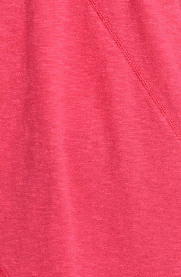 Alternate Image 3  - Sejour Slubbed Cotton Top (Plus Size)