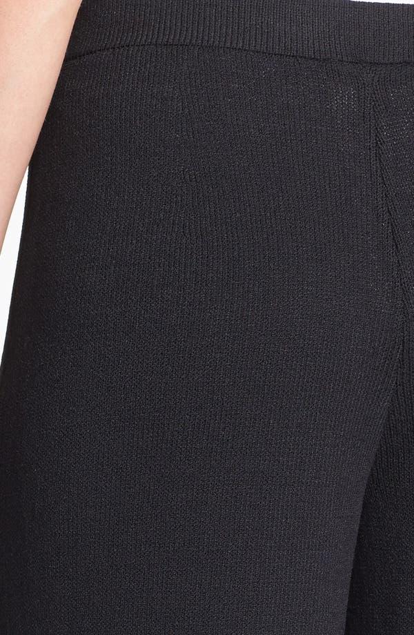 Alternate Image 3  - St. John Collection Santana Knit Stove Pants