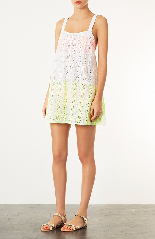 Alternate Image 1 Selected - Topshop Broderie Cover-Up