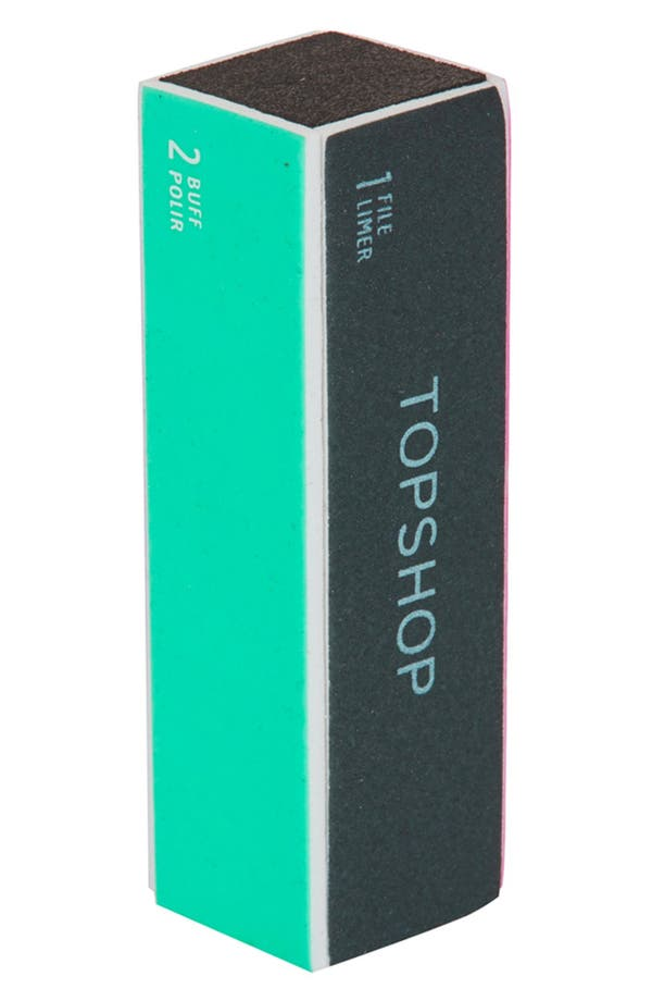 Alternate Image 1 Selected - Topshop Nail Buffer