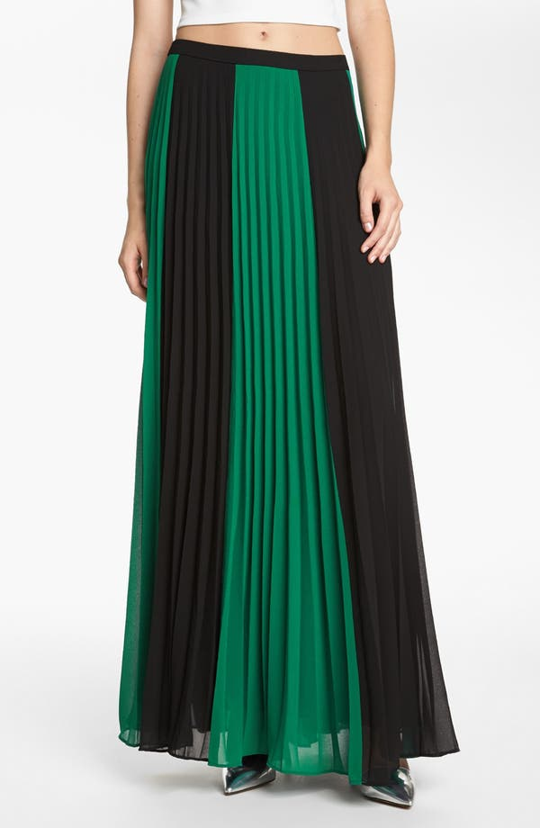 Main Image - Like Mynded 'Grace' Maxi Skirt