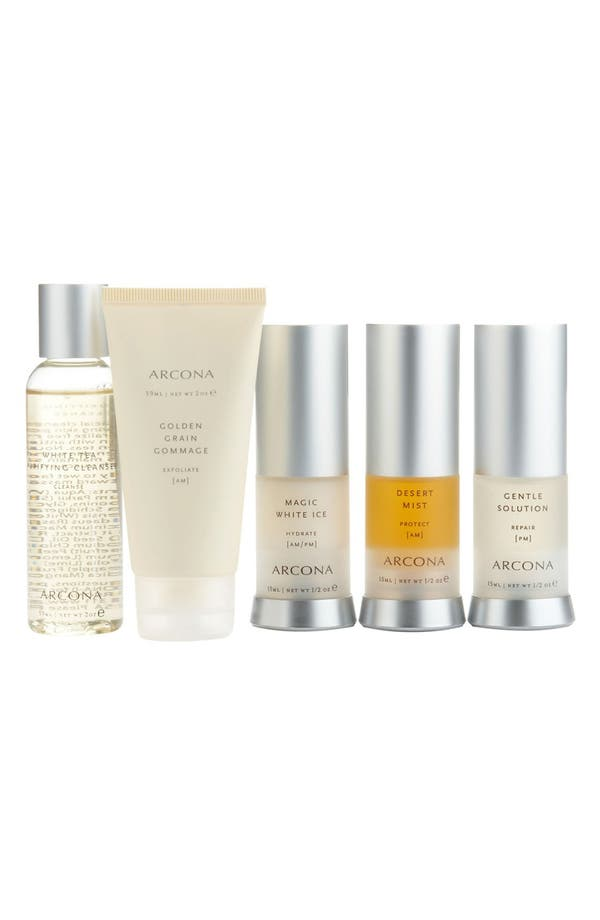 Alternate Image 1 Selected - ARCONA 'Basic Five' Travel Kit for Normal Skin ($105 Value)