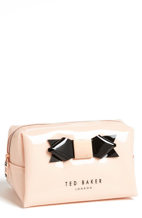 Main Image - Ted Baker London 'Bow' Cosmetics Case