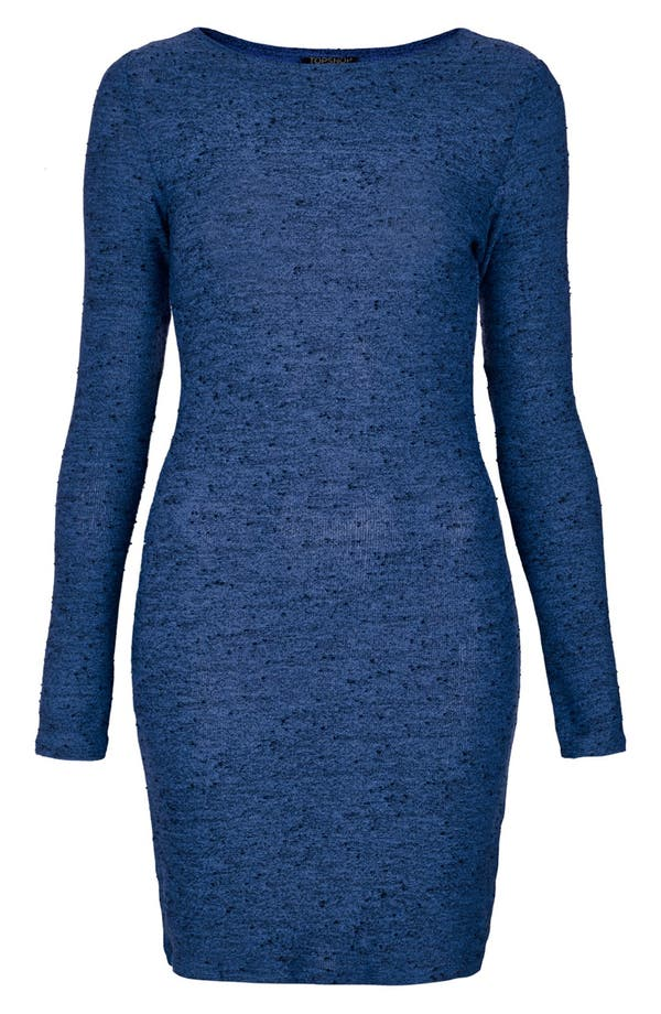 Alternate Image 3  - Topshop Textured Body-Con Dress