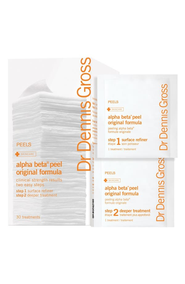 Alternate Image 1 Selected - Dr. Dennis Gross Skincare Alpha Beta® Peel Original Formula - 30 Applications