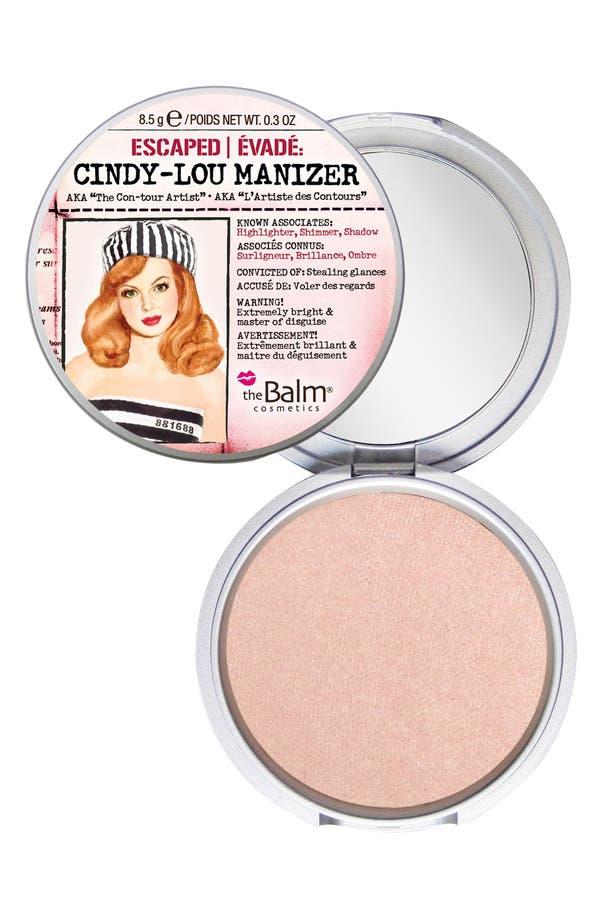 Main Image - theBalm® 'Cindy-Lou Manizer®' Highlighter, Shadow & Shimmer