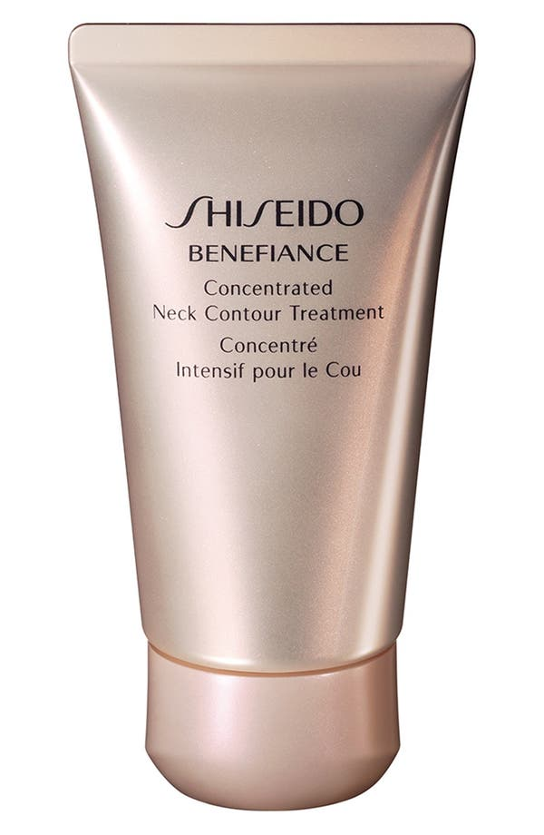 Alternate Image 1 Selected - Shiseido 'Benefiance' Concentrated Neck Contour Treatment