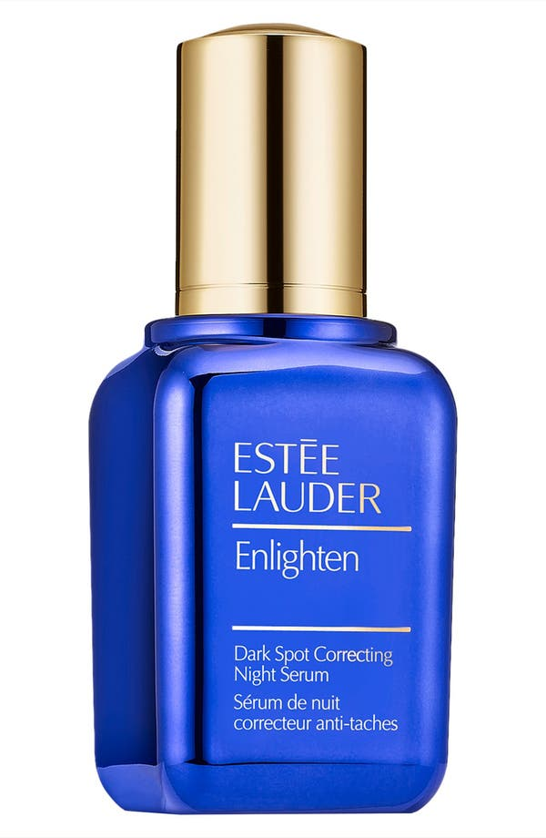 Enlighten Dark Spot Correcting Night Serum,                             Main thumbnail 1, color,                             No Color