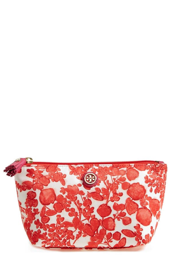 Alternate Image 1 Selected - Tory Burch Trapeze Cosmetics Case