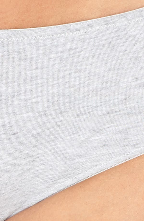 Hipster Panties,                             Alternate thumbnail 4, color,                             Heathered Pelican