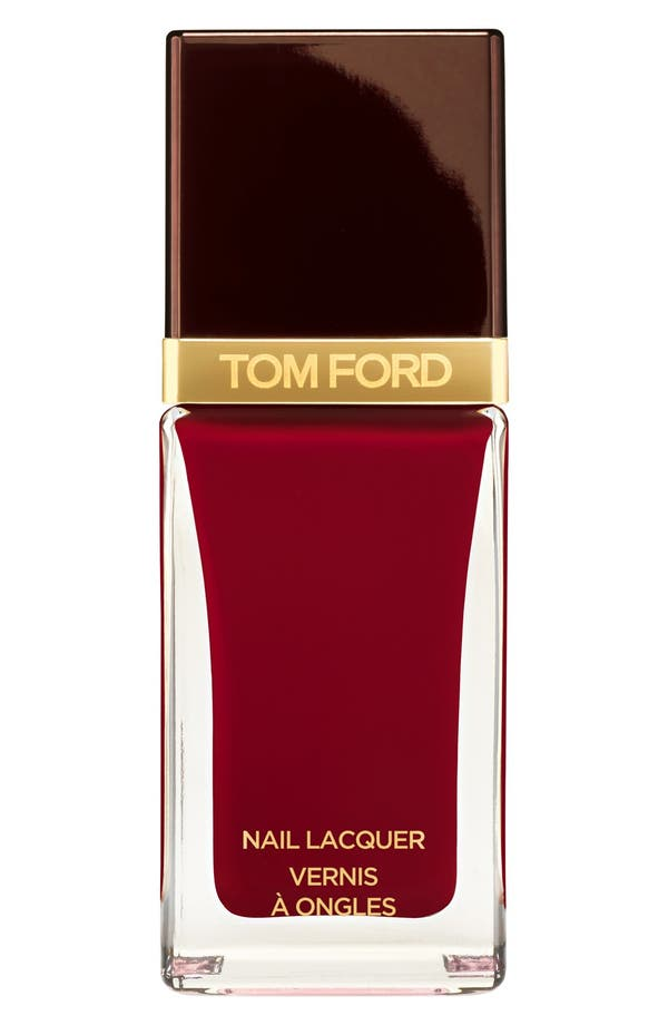 Nail Lacquer,                         Main,                         color, Smoke Red