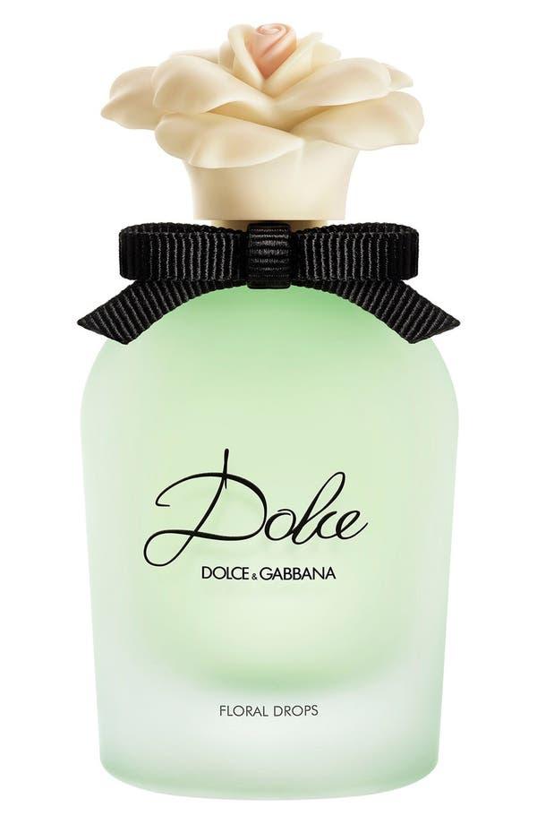 Gabbana Beauty 'Floral Drops' Eau de Toilette,                             Main thumbnail 1, color,                             No Color
