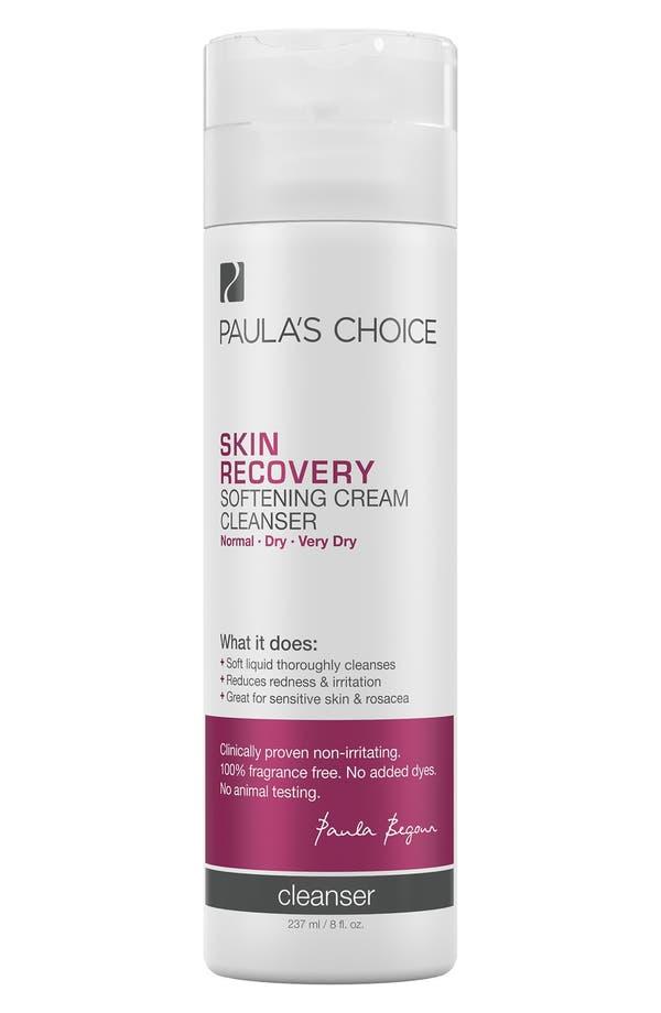 Main Image - Paula's Choice Skin Recovery Softening Cream Cleanser