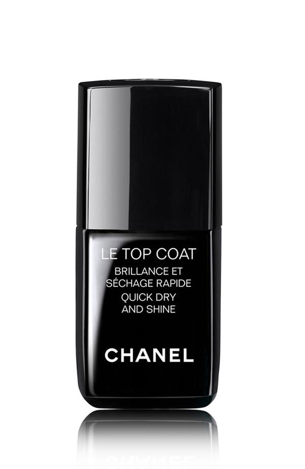 Main Image - CHANEL LE TOP COAT  Quick Dry and Shine