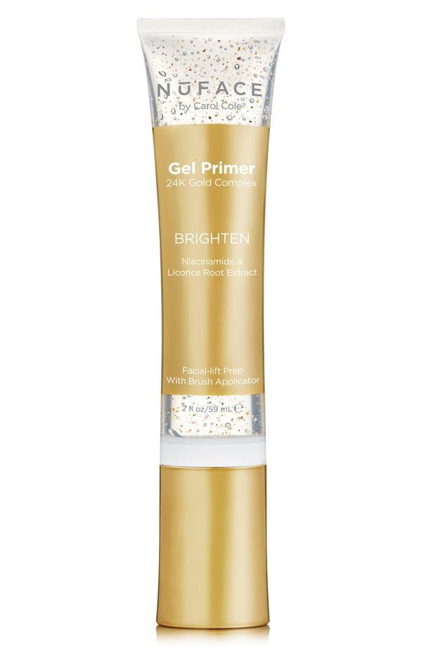 Alternate Image 1 Selected - NuFACE® Gel Primer 24K Gold Complex Brighten