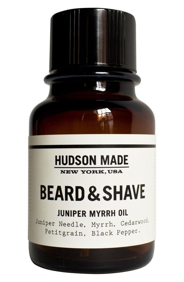 Main Image - Hudson Made Beard & Shave Oil