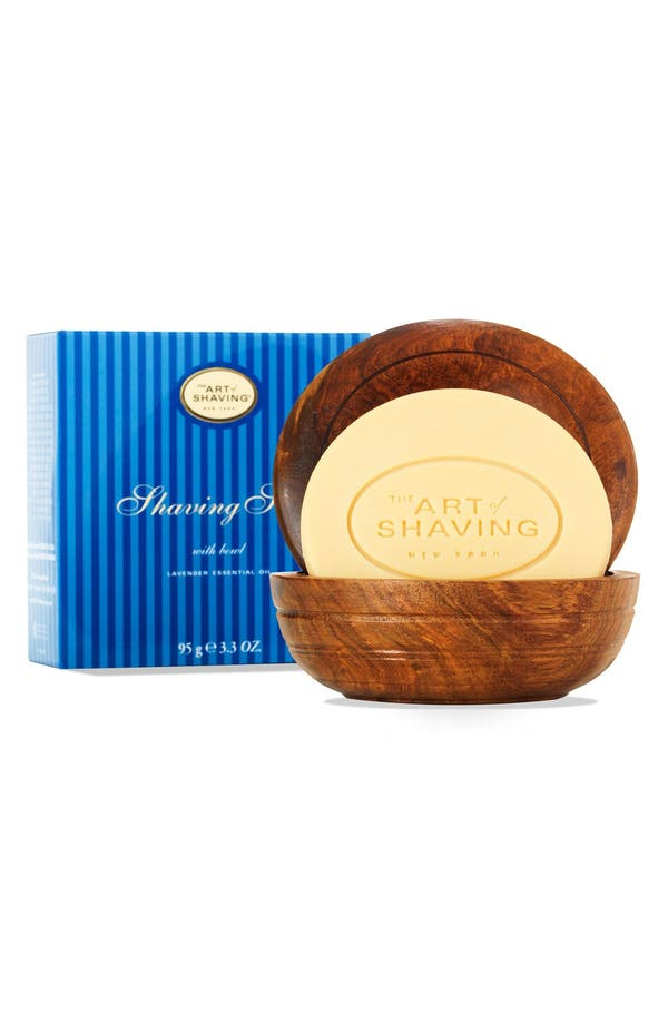 Main Image - The Art of Shaving® Unscented Shaving Soap with Bowl