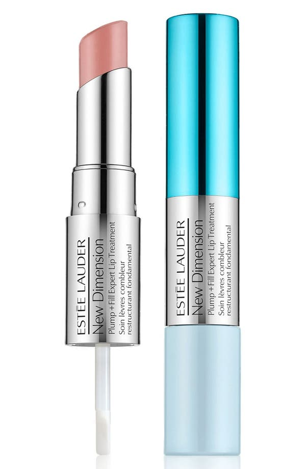 Alternate Image 1 Selected - Estée Lauder 'New Dimension' Plump + Fill Expert Lip Treatment