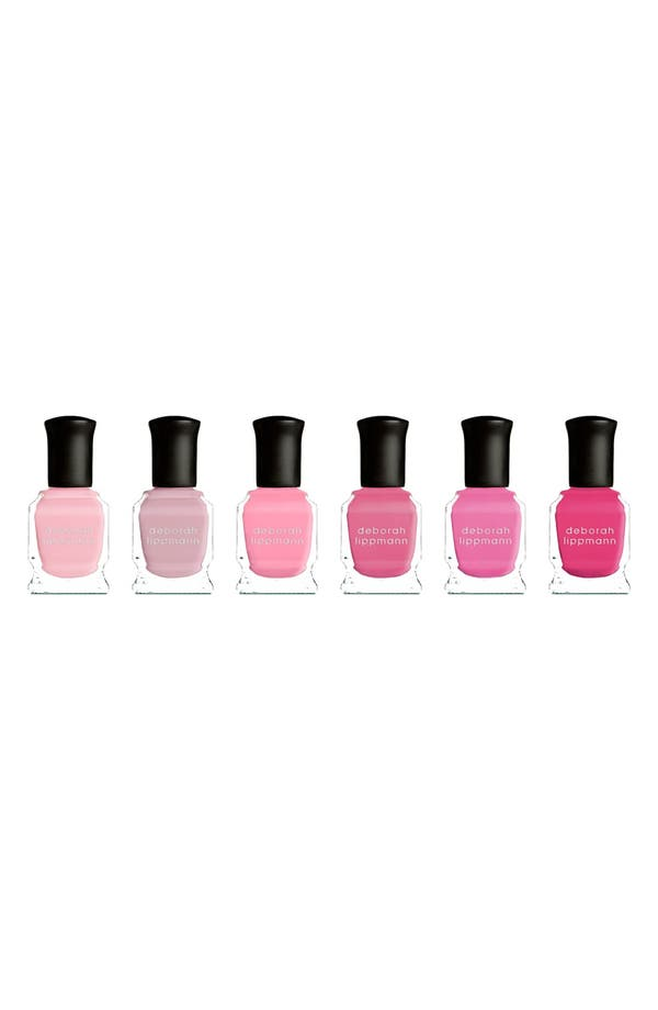 Alternate Image 1 Selected - Deborah Lippmann 'Pretty in Pink' Nail Color Set (Limited Edition) ($72 Value)