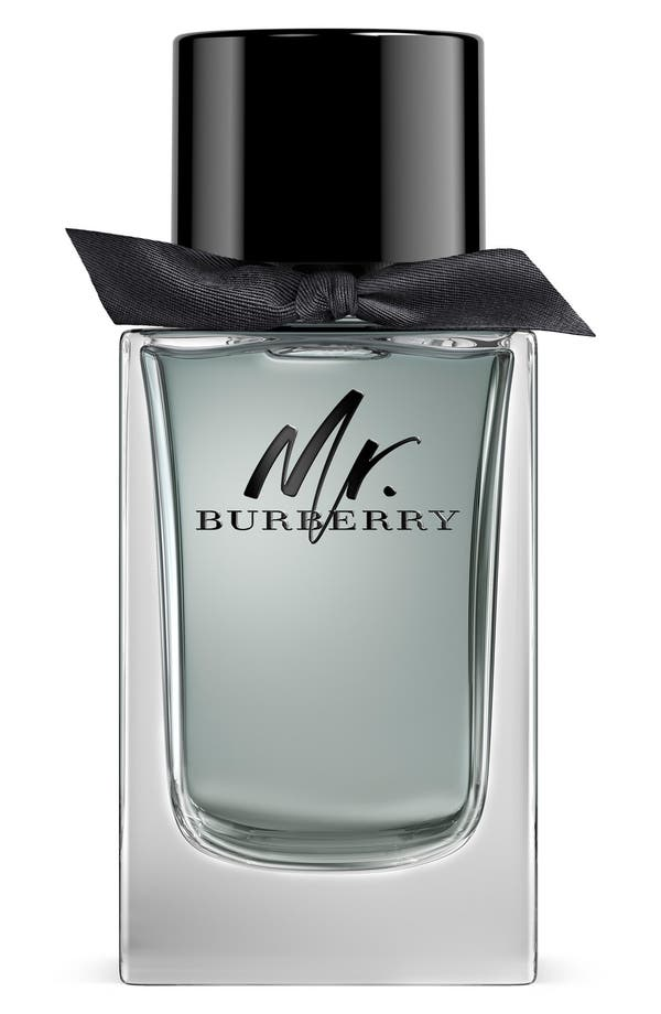 Mr. Burberry Eau de Toilette,                             Main thumbnail 1, color,                             No Color