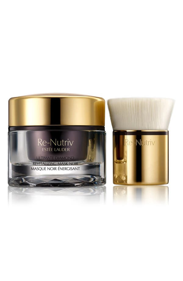 Re-Nutriv Ultimate Diamond Revitalizing Mask Noir,                         Main,                         color, No Color