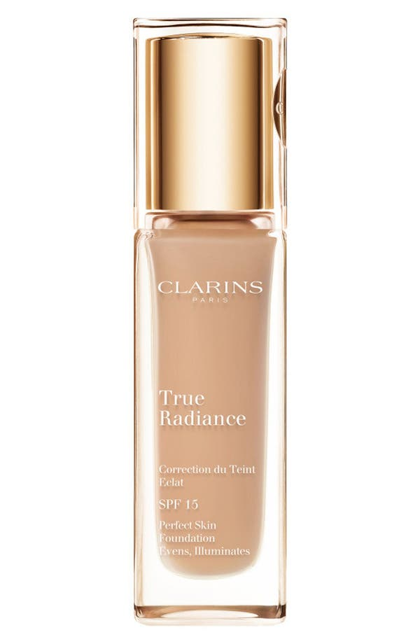 Alternate Image 1 Selected - Clarins True Radiance SPF 15 Perfect Skin Foundation