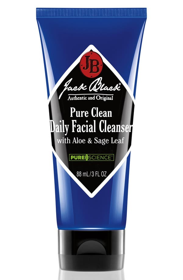 Alternate Image 1 Selected - Jack Black 'Pure Clean' Daily Facial Cleanser (Travel Size)