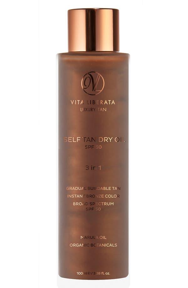 Self Tan Dry Oil SPF 50,                         Main,                         color, No Color
