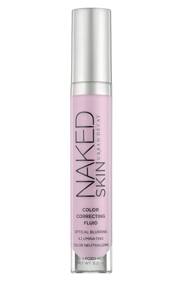 Naked Skin Color Correcting Fluid,                             Main thumbnail 1, color,                             Lavender