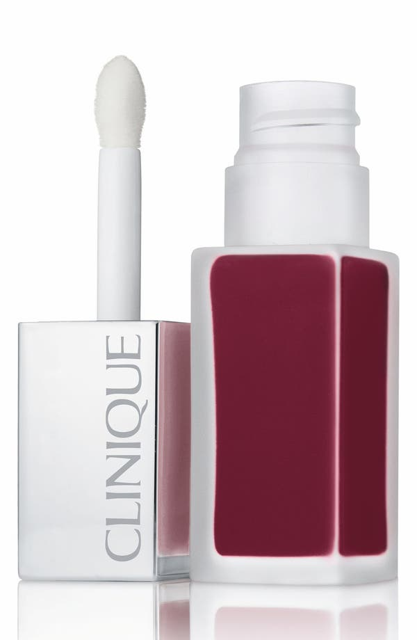 Pop Liquid Matte Lip Color + Primer,                             Main thumbnail 1, color,                             Boom Pop