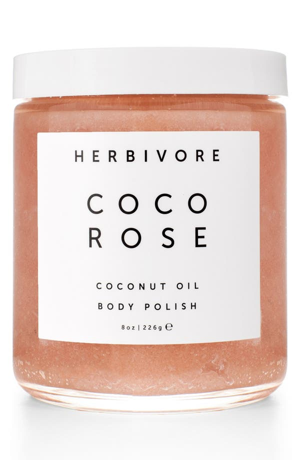 Main Image - Herbivore Botanicals Coco Rose Coconut Oil Body Polish (8 oz.)
